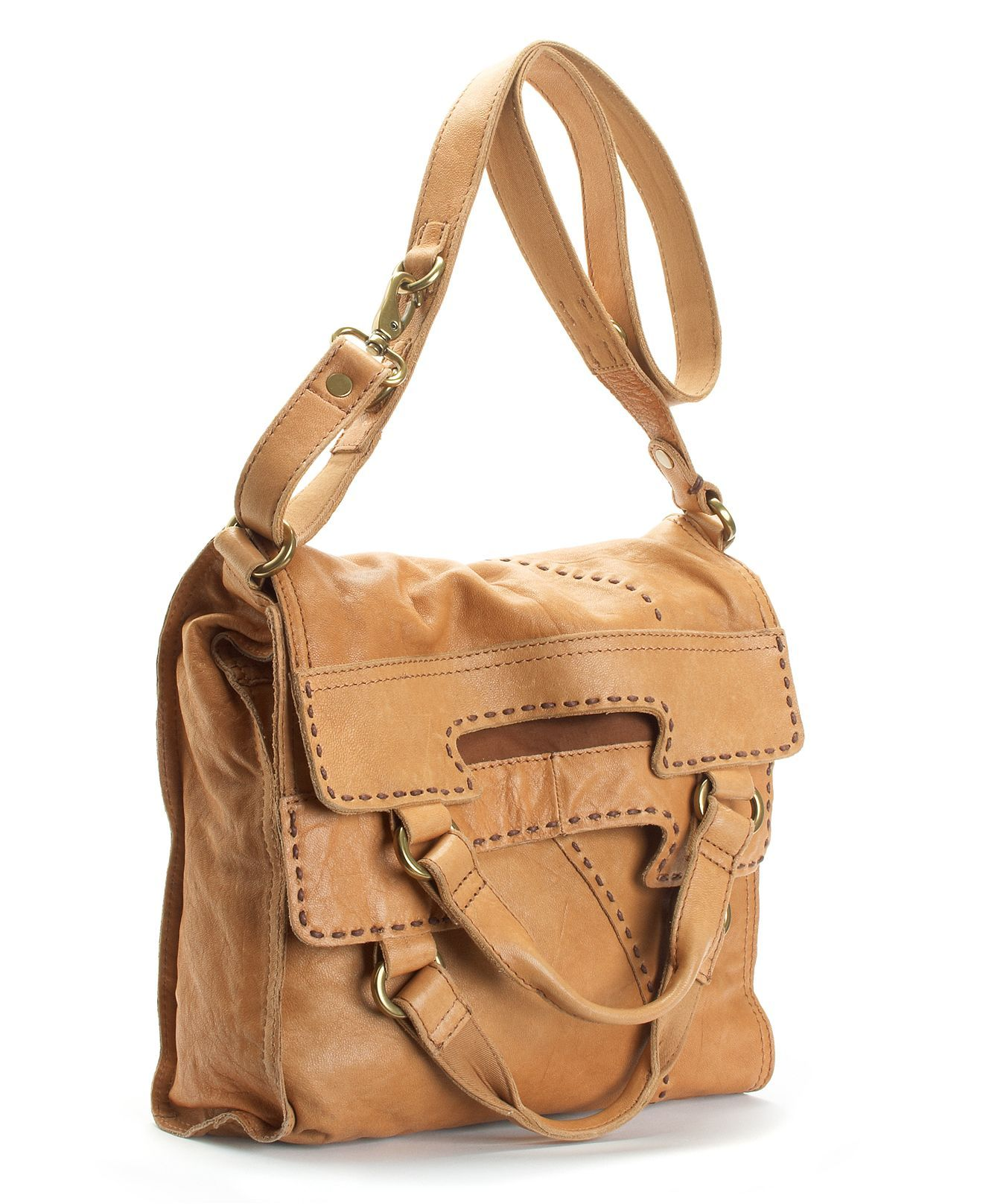 Lucky Brand Handbag Abbey Road Leather Bag Handbags Accessories Macy S