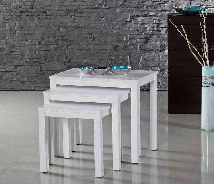 Decided stacking or nesting tables for designs your rooms nesting decided stacking or nesting tables for designs your rooms nesting tables with white design watchthetrailerfo