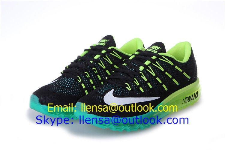 premium selection f828e dc93f Nike air max 2016 men running shoes black green blue white size 7-11  99  www.cncheaps.com