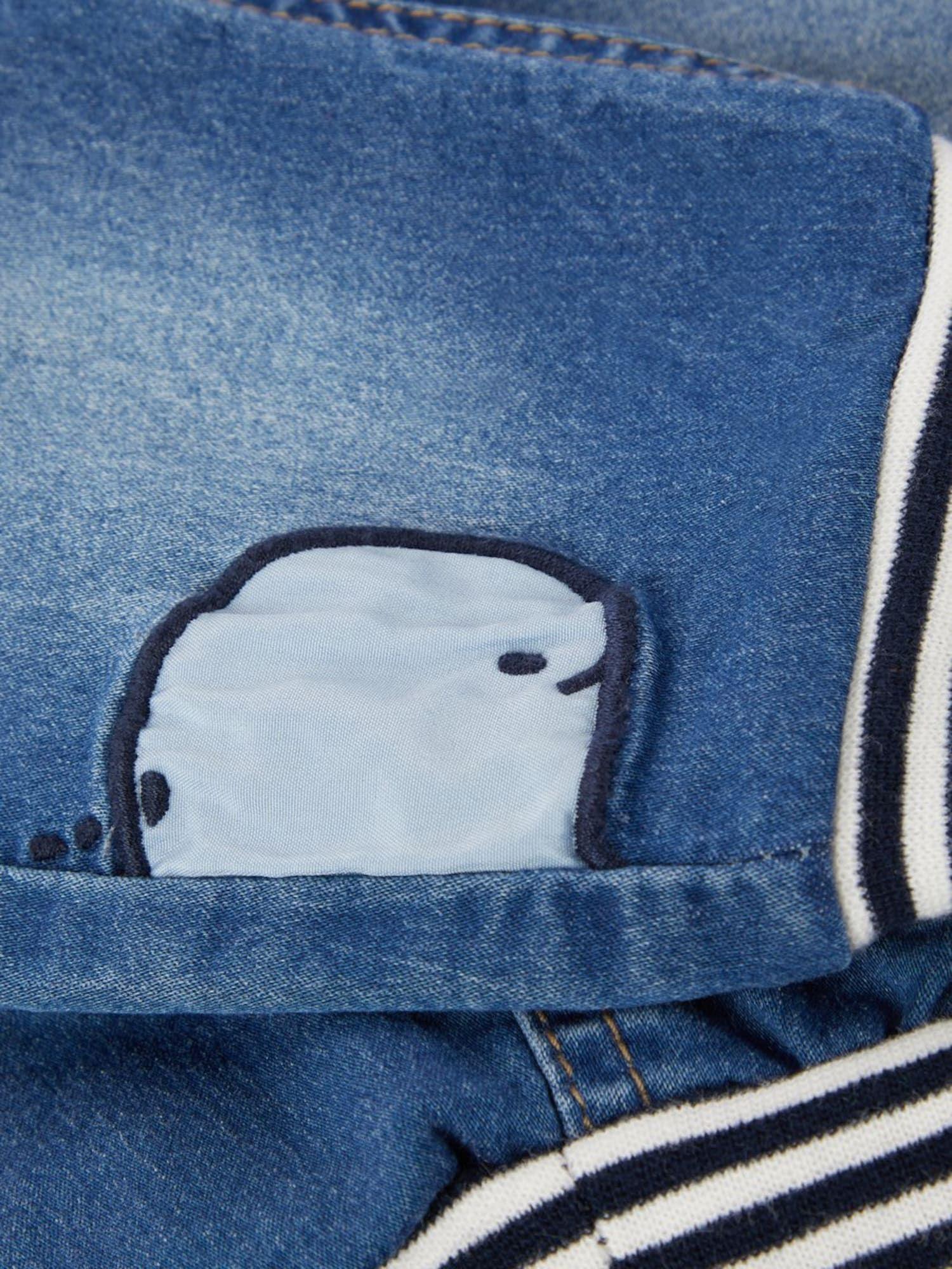 Name It Jeans Jungen Blue Denim Schwarz Weiss Grosse 56 Schwarz Weiss Jeans