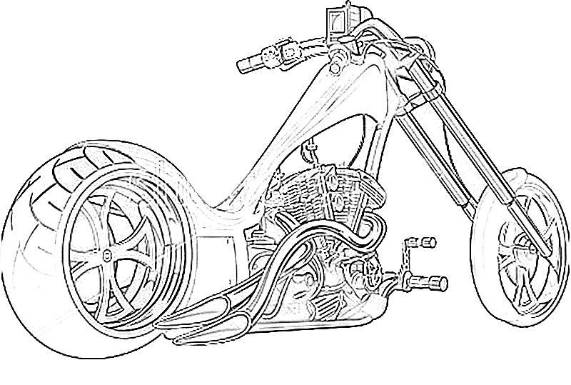 motorcycle coloring pages for adults - Google Search | Coloring ...