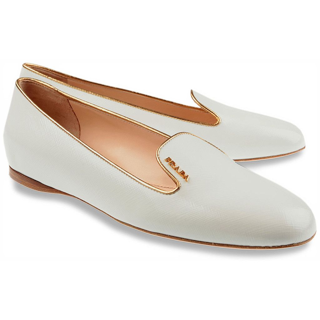 White #Loafers By Prada #Shoes Womenu0026#39;s Slip On Prada Shoes On Loafers Styles | Shoes | Pinterest ...