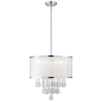 Canarm reese 4 light chandelier reviews wayfair interior wall