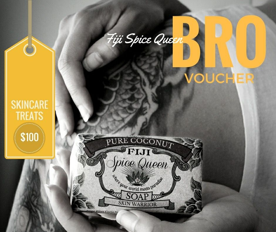 Gift Vouchers for the bro' makes shopping awesomely easy www.fijispicequeen.com