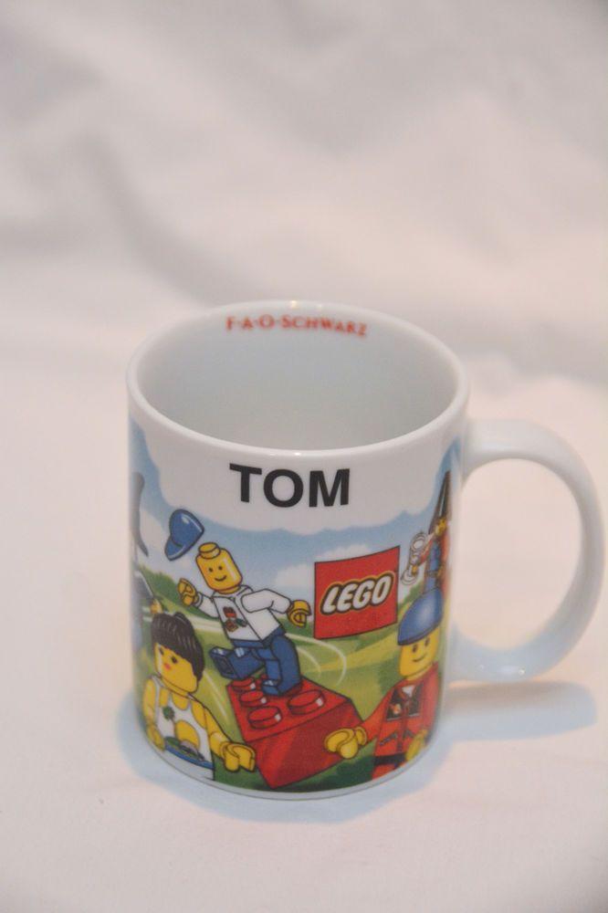 Lego TOM Personalized Lego Coffee Mug, Cup | Ebay | Pinterest ...