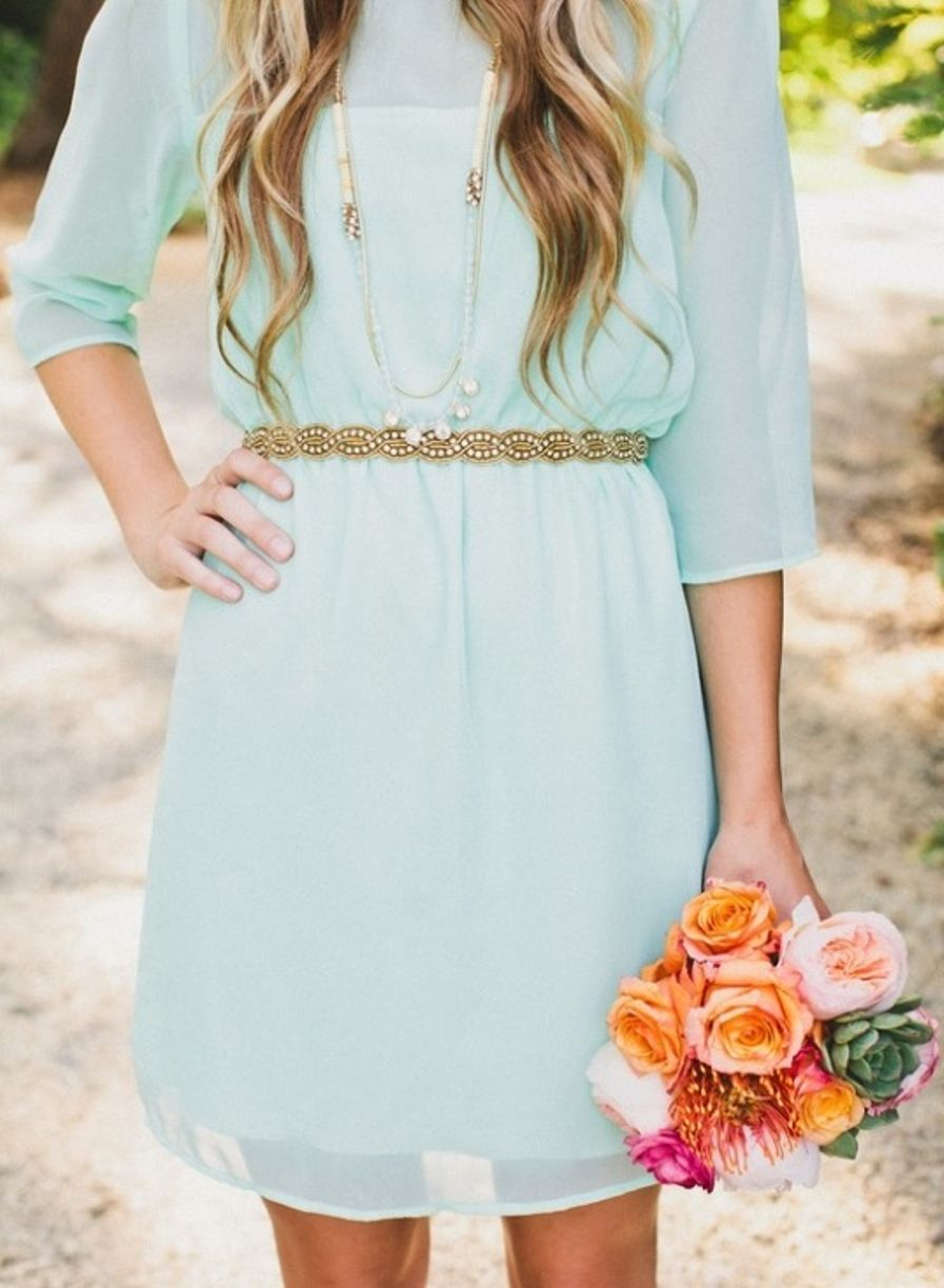 Mint bridesmaid dress with sleeves dresses pinterest mint mint bridesmaid dress with sleeves ombrellifo Images