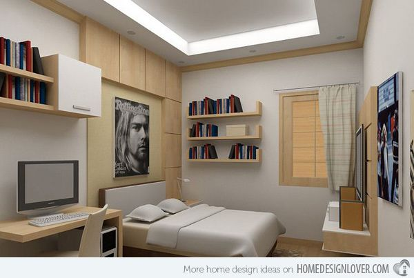 20 teenage boys bedroom designs - Boys Bedroom Design