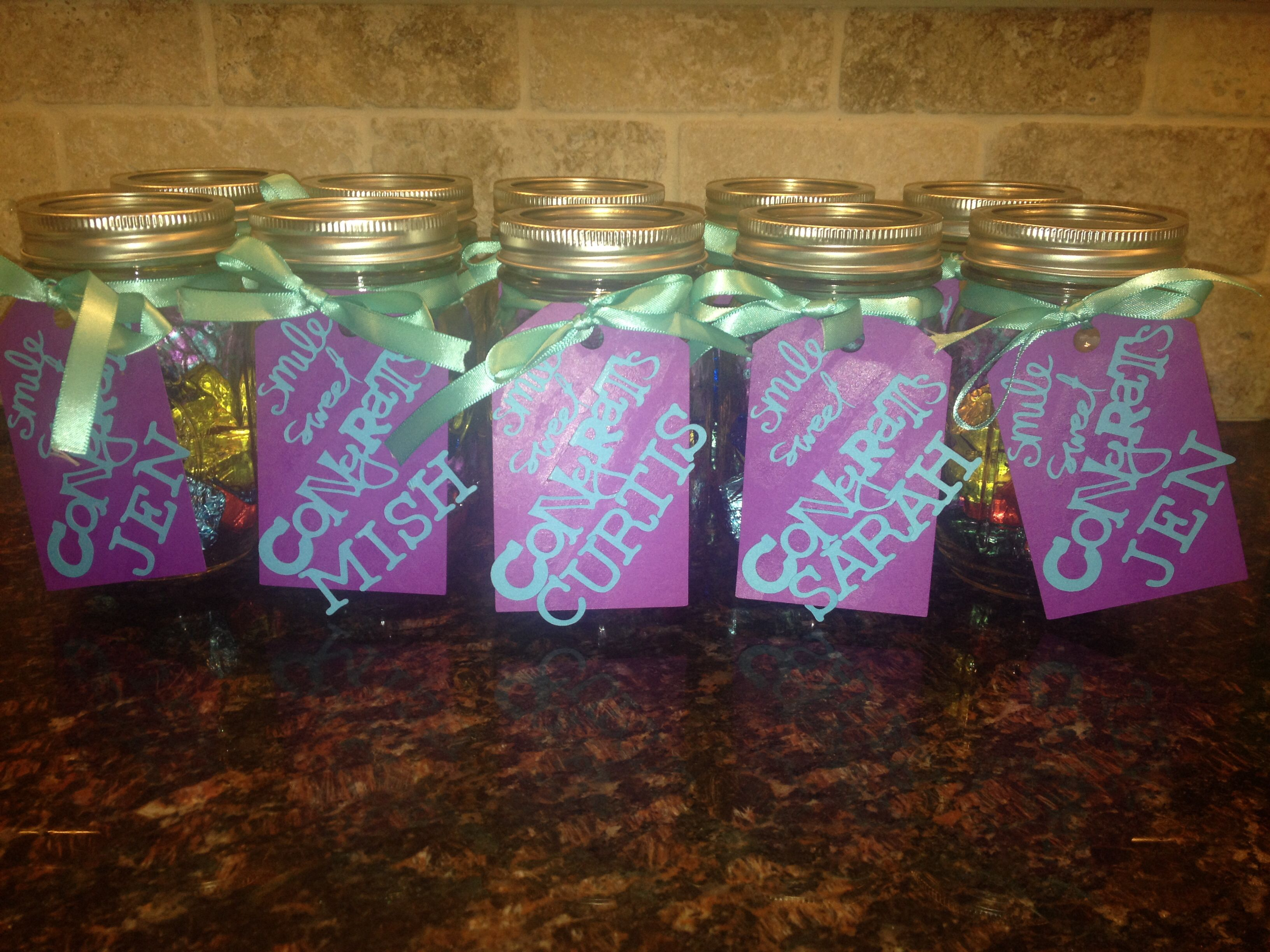 Employee Appreciation Candy Jars For Sweet Service Employee Appreciation Employee Recognition Appreciation