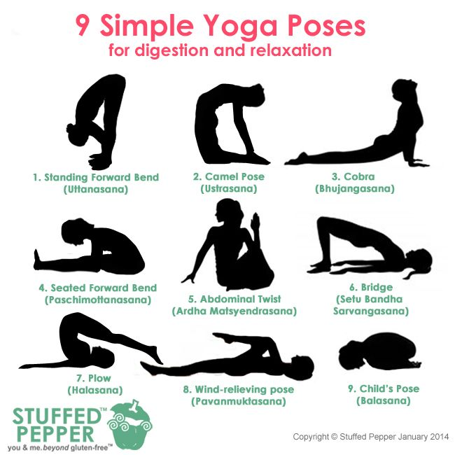 relaxation yoga poses