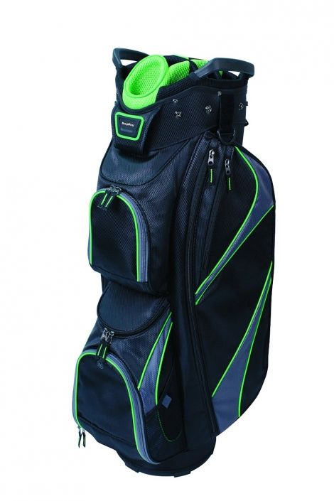 68a97cf61a34 Datrek Ladies Men s DG-Lite Cart Golf Bags - Black Charcoal Lime ...