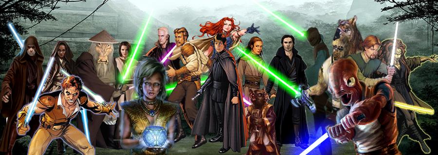 The New Jedi Order founded by Luke Skywalker | Star wars artwork, Star  wars, Artwork