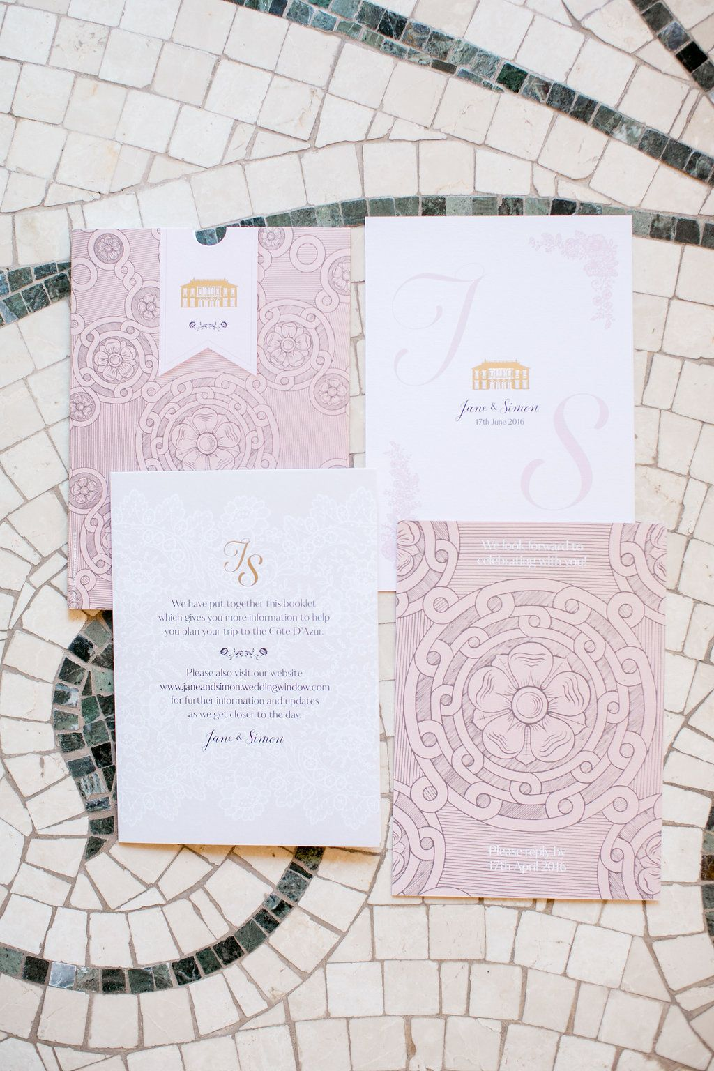 Wedding Stationery I Photography: Chloé Brown I Planning & Design: Lavender & Rose