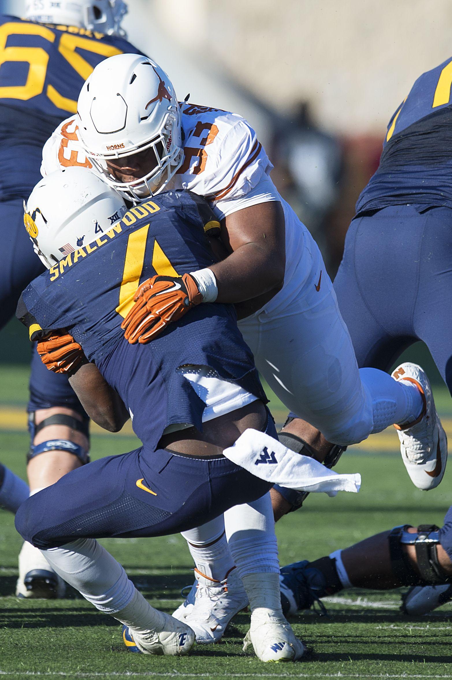 DT Paul Boyette, Jr. Texas football, University of texas