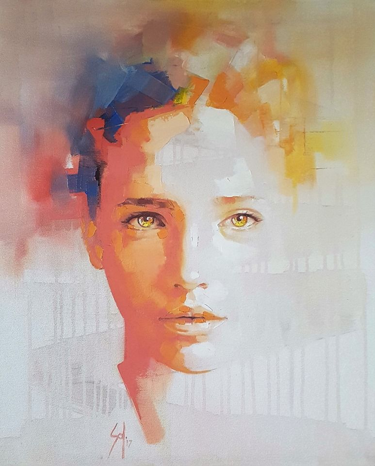 Fb Solly Smook Artist Portrait Painting Portrait Art