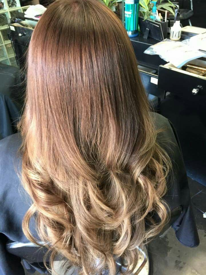 Curly ombre | Hair styles, Long hair styles, Beauty