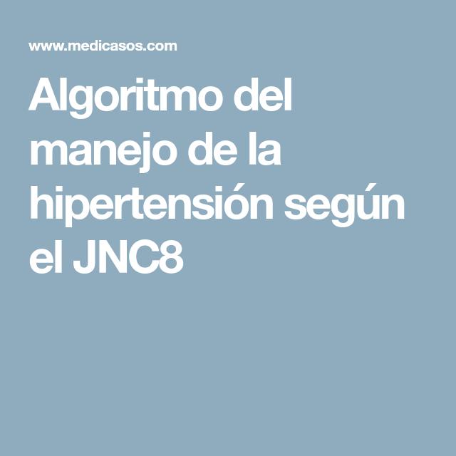 algoritmo hipertensión diabetes mellitus