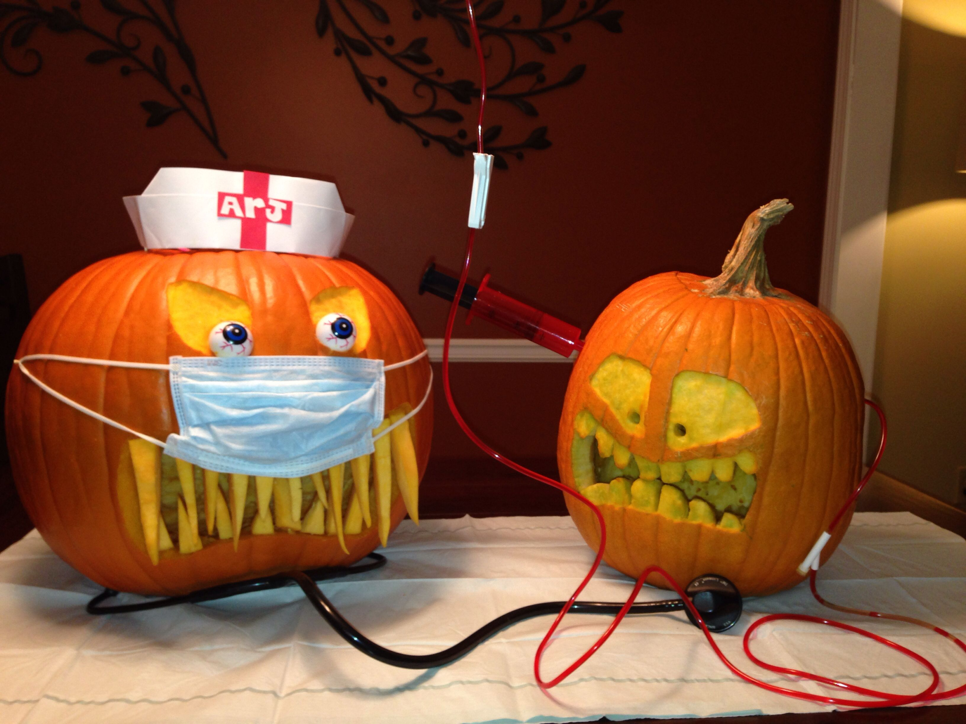 Halloween Decorated Pumpkin: medical office, colonoscopy, patient ...