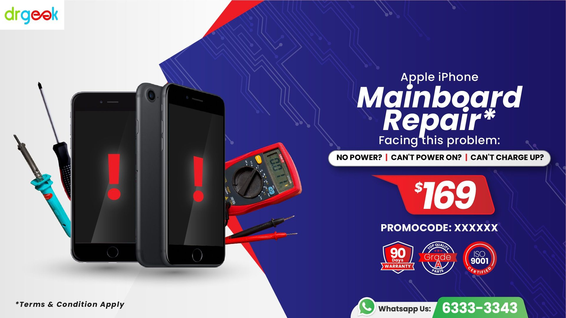 Fast and affodable iPhone repair service in Singapore