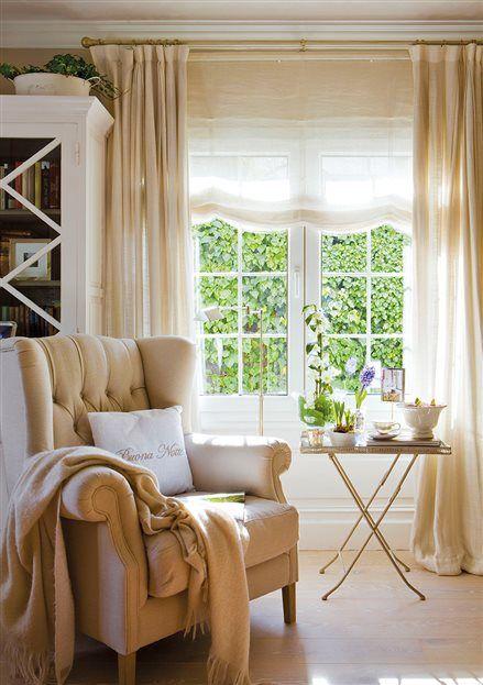 M s de 25 ideas incre bles sobre cortinas salon en for Cortinas transparentes salon