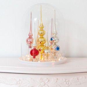 Kerst DIY I: pieken stolp