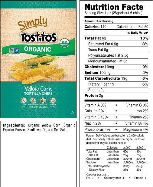 Frito Lay Good Fun Gluten Free Grains Corn Tortilla Chips Simply Organic