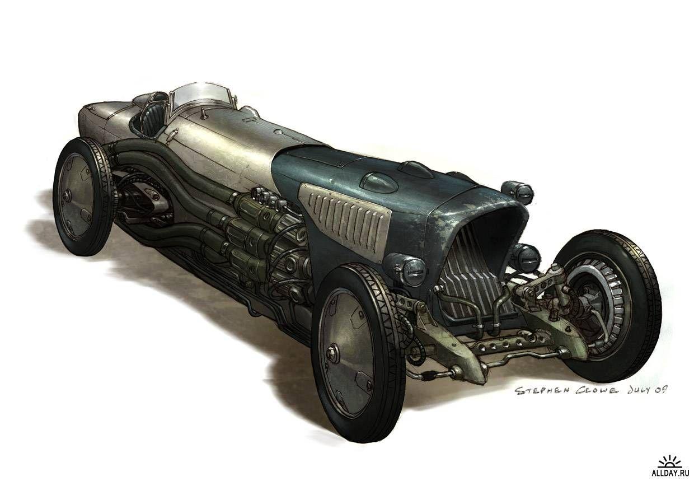 (no title) Dieselpunk vehicles, Dieselpunk, Concept cars
