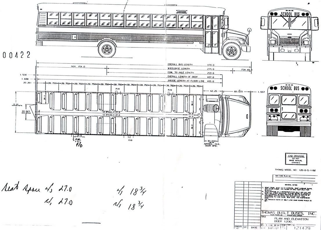 interior dimensions of a school bus google search [ 1106 x 791 Pixel ]