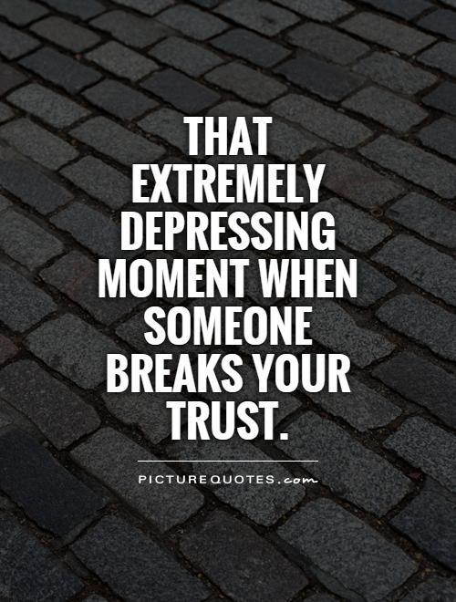 Vertrauensbruch freundschaft