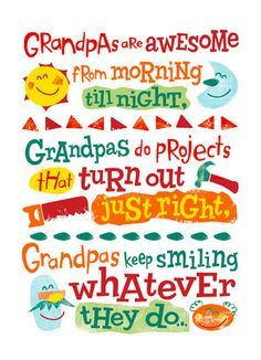 Happy Father/'s Day I Love Grandpa Fathers Day Greeting Card