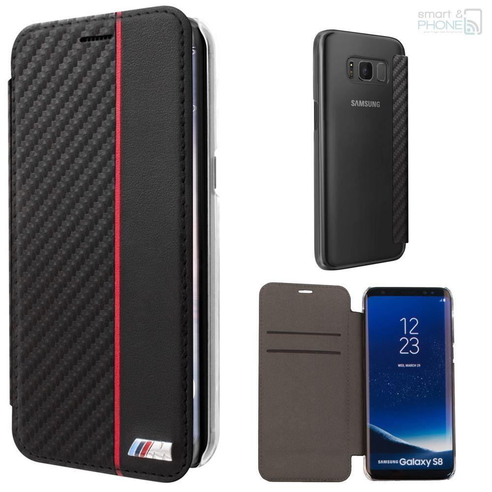 Bmw M Carbon Look Samsung Galaxy S8 S8 Plus Handy Cover Book Case Schutz Hulle Smartandphone Samsung Handy Smartphone