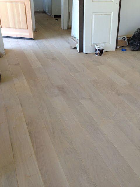Unfinished white oak wood floors Gorgeous 7 wide planks