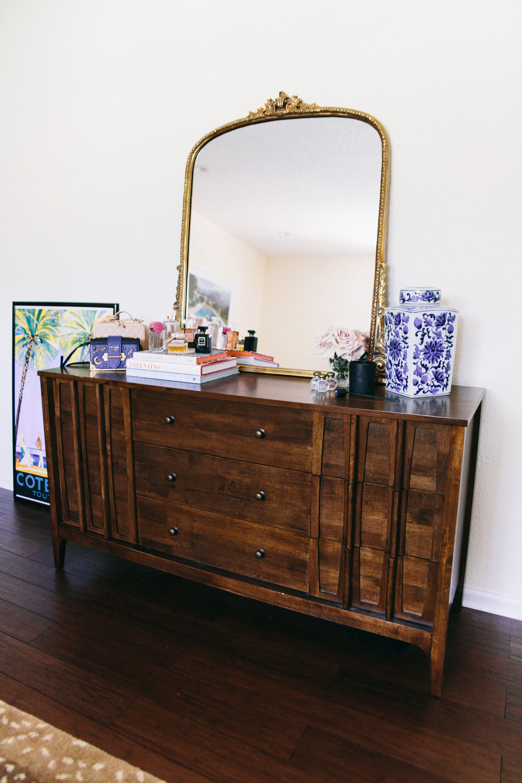 Best Vintage Style Mirror Mid Century Modern Dresser Master 400 x 300