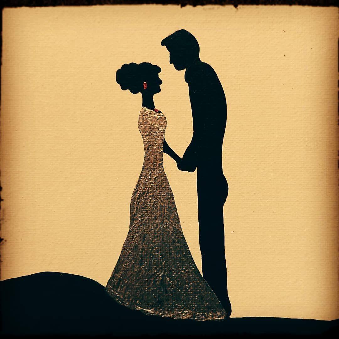 Bald Ist Es Soweit In Zwei Monaten Stehen Wir Beide Vorm Altar Und Geben Uns Endlich Das Ja Wort Wedding Vorfreude Lie Human Silhouette Silhouette Human