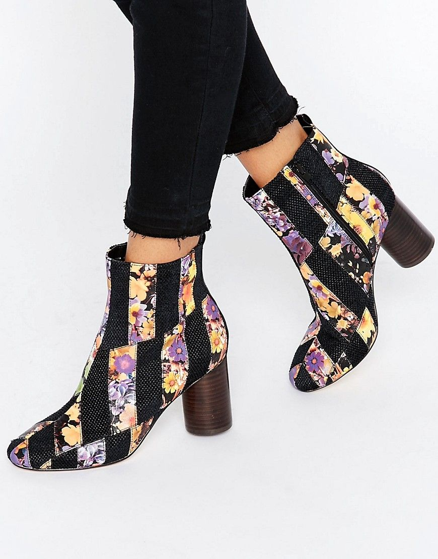 Buy Women Shoes / Asos Rattle Patch Work Ankle Boots