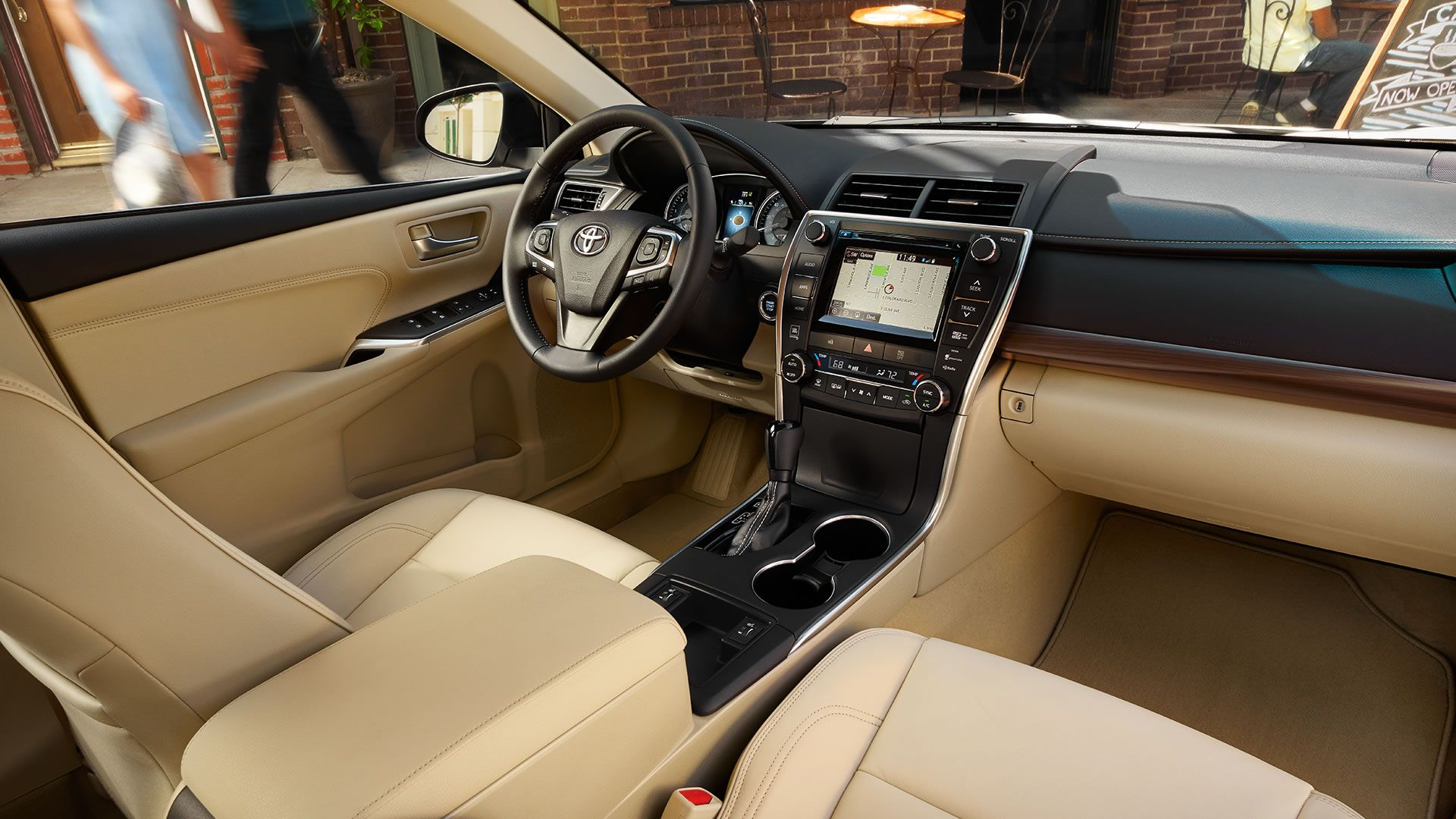 View Toyota Camry interior and exterior photos and ready to