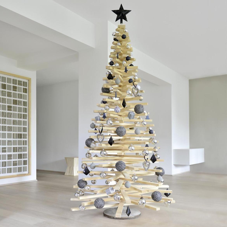 diy weihnachtsbaum aus holzlatten diy weihnachtsbaum baum und tannenbaum. Black Bedroom Furniture Sets. Home Design Ideas