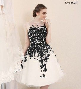 Short Wedding Reception Dresses Made In A Cocktail Length Work Well For  Some Brides. When