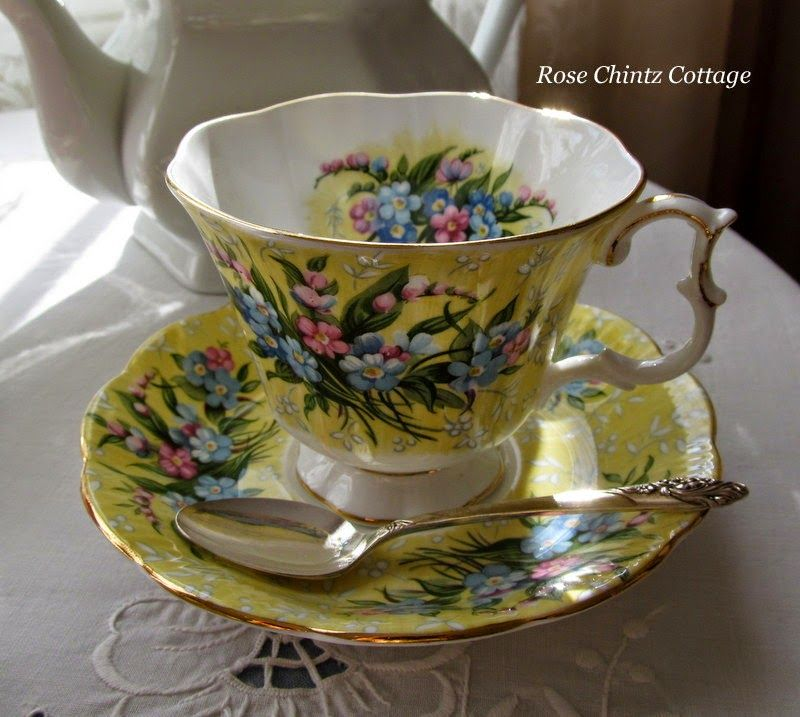"""""""Shaftesbury"""" from the Festival Collection~Rose Chintz Cottage: A Ray of Sunshine for Tea Time"""
