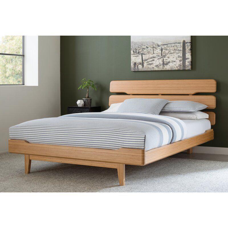 Currant Platform Bed All Modern Platform Bed Simple Bed Wood