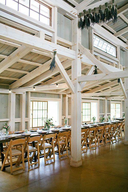 Maine Flower Farm Wedding, Barn Reception Space | Brides ...