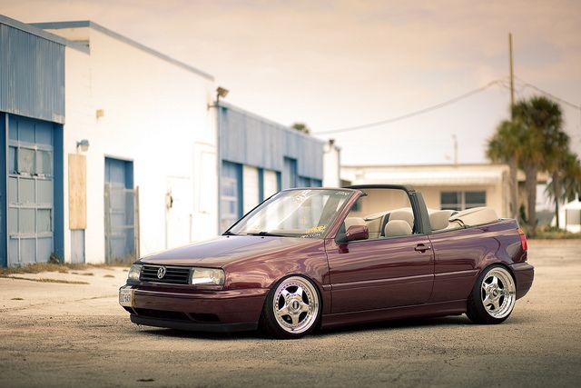 Brian Crook's Mk3 Cabrio by Jonathan_DeHate, via Flickr