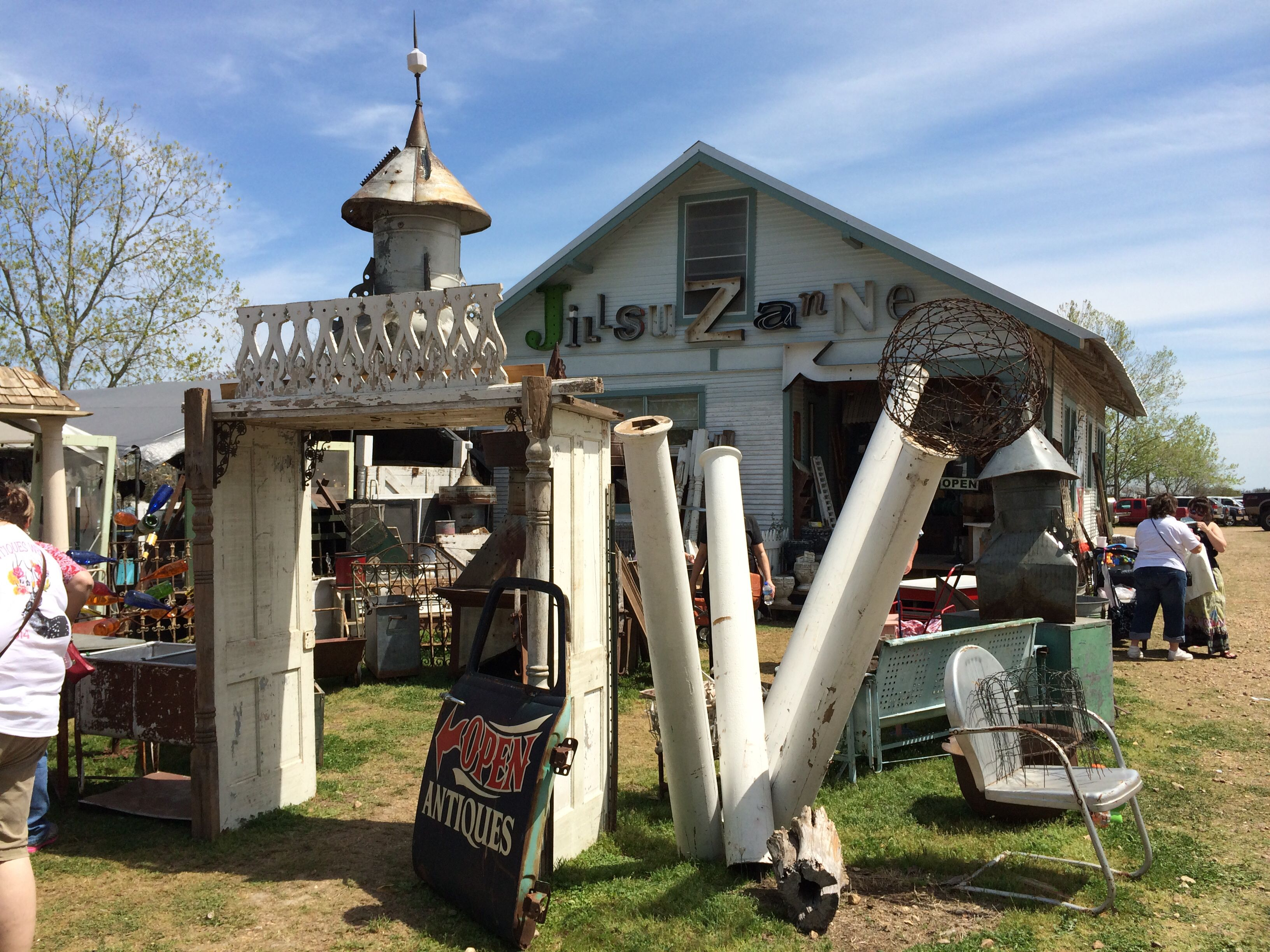 Jill Suzanne at Round Top Antiques Week