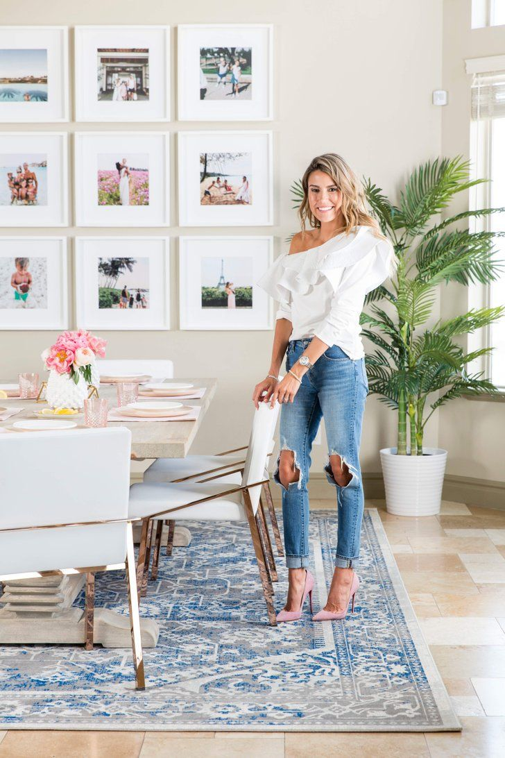 kids living room furniture diy small makeover the 1 brilliant way this fashion blogger made her glam dining kid friendly