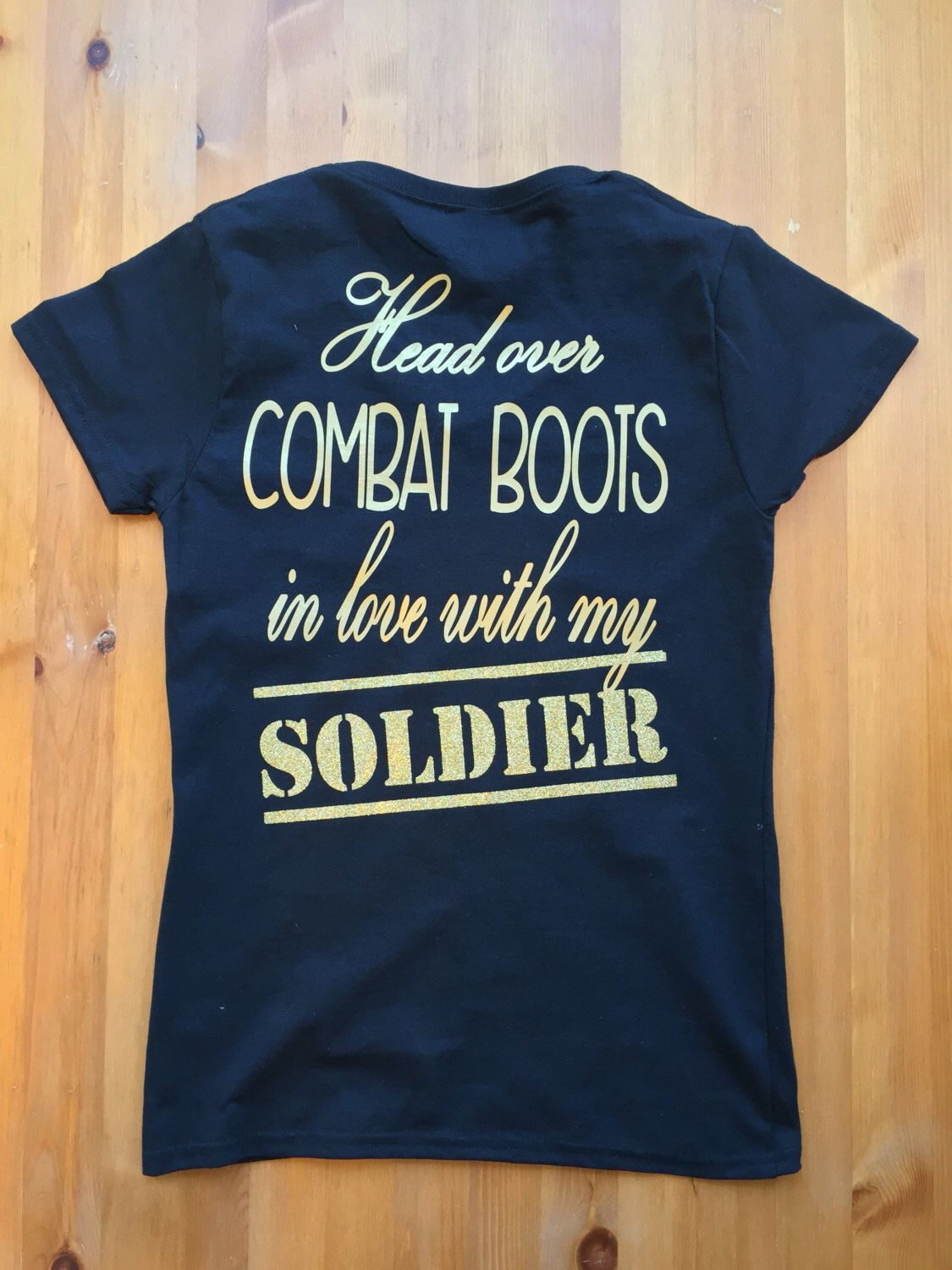 a5e70b9d Head over combat boots These shirts can be customized to represent your  branch of the military.