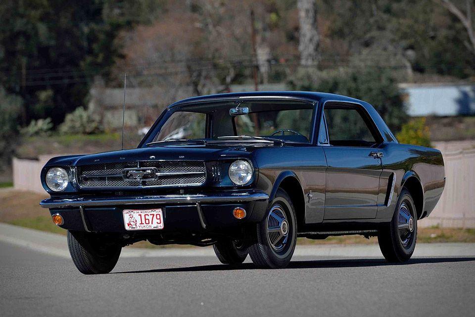 1965 Ford Mustang No 00002 Mustang Coupe 1965 Mustang Ford Mustang