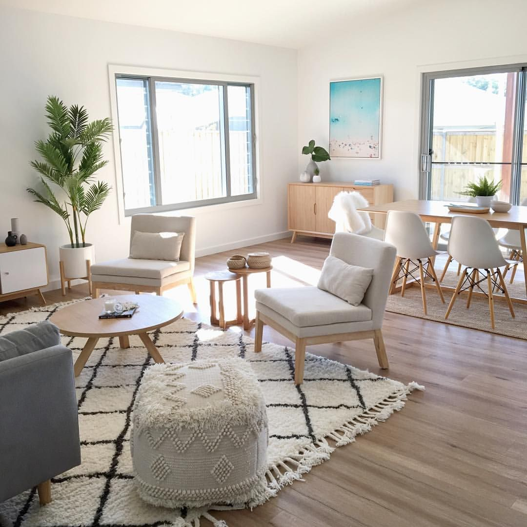 "Sapphire Living Interiors on Instagram: ""Beautiful high, square set ceilings, 3 living rooms, 3 linen cupboards, 4 bedrooms and one of the most sought afters suburbs on the Coffs…"" #coastallivingrooms"