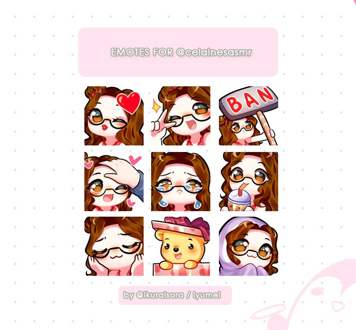 Emoteartist Twitter Search Twitter In 2020 Anime Stickers Emoji Stickers Chibi