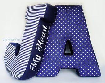 New baby gift Pink letter pillow E Baby name sign Nursery decor Girly decor pillow Custom letter Alphabet pillow Kids photo prop Soft letter