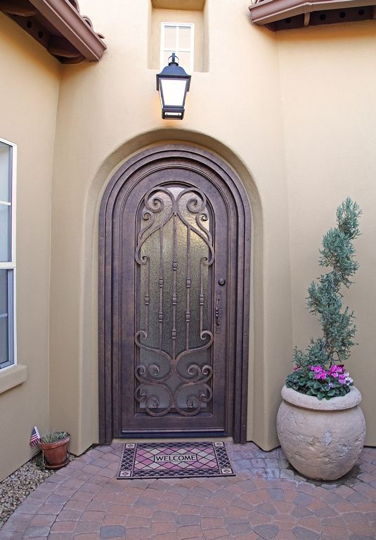 Verona Iron Entry Door - By First Impression Security Doors & Verona Iron Entry Door - By First Impression Security Doors ...