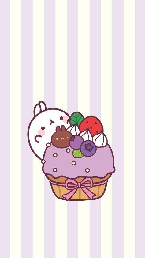 Super Cupcakes Wallpaper Iphone Kawaii Ideas Wallpaper Iphone Cute Cute Kawaii Drawings Cute Cartoon Wallpapers